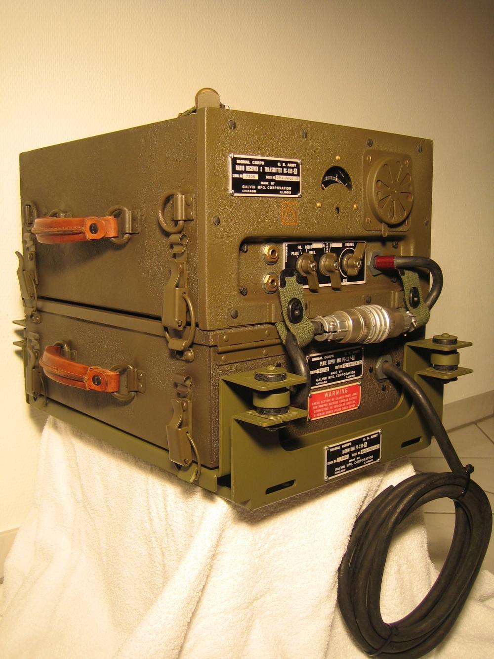 Willys Overland Jeep Mb G503 Restoration Zubehr Electrical Wiring Funkgerte Bc 659 Radio